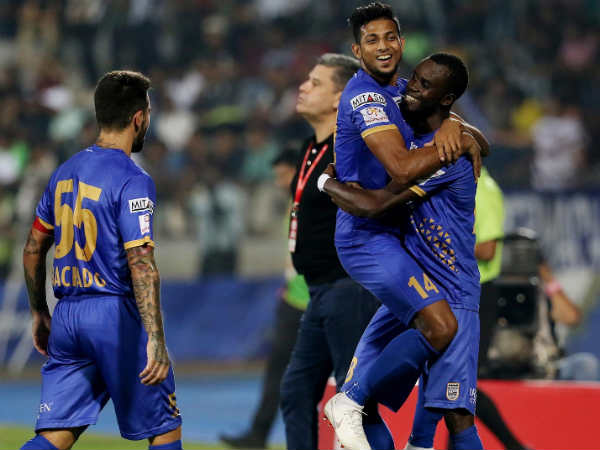 Mumbai City Beats Chennaiyin Fc In Indian Super League Football