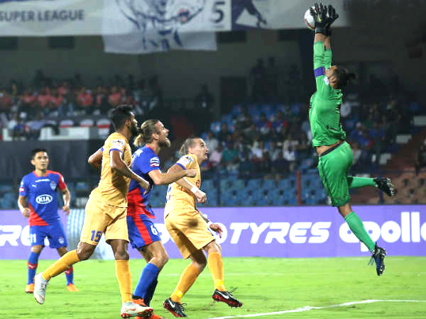 Bengaluru Fc Mumbai City Indian Super League Match Ends In Draw
