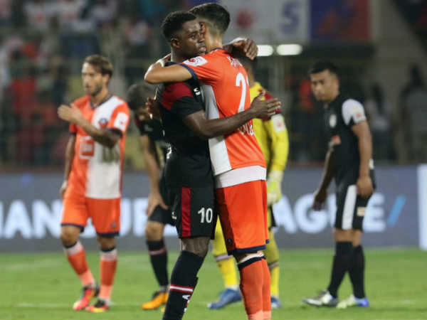 Fc Goa Thrashed North East United In Indian Super League Match