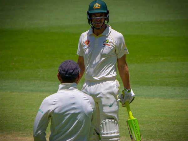Umpires Step In To Stop Physical Battle Between Kohli And Paine In Perth Test
