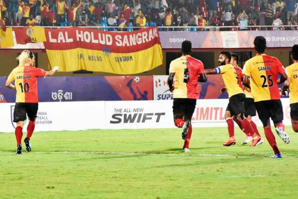 East Bengal Surge To Second Spot