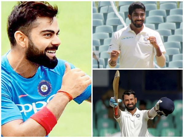 Indian Captain Virat Kohli Remains Top In Latest Test Ranking