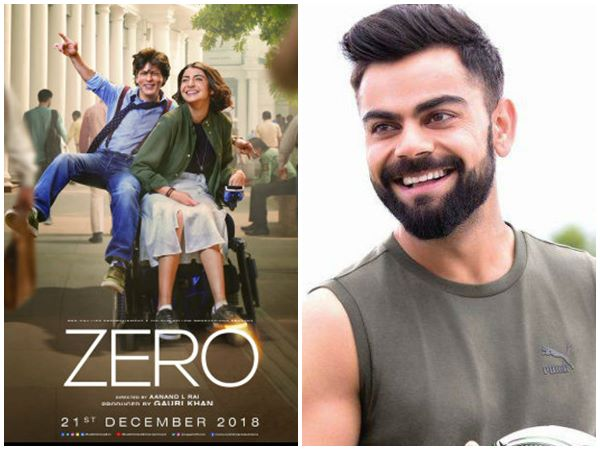 Indian Cricket Team Captain Virat Kohli Reviews Bollyewood Movie Zero