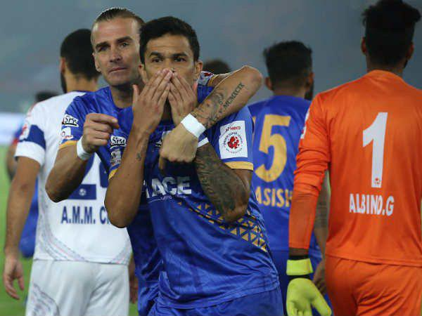 Mumbai City Beats Delhi Dynamos In Indian Super League Football
