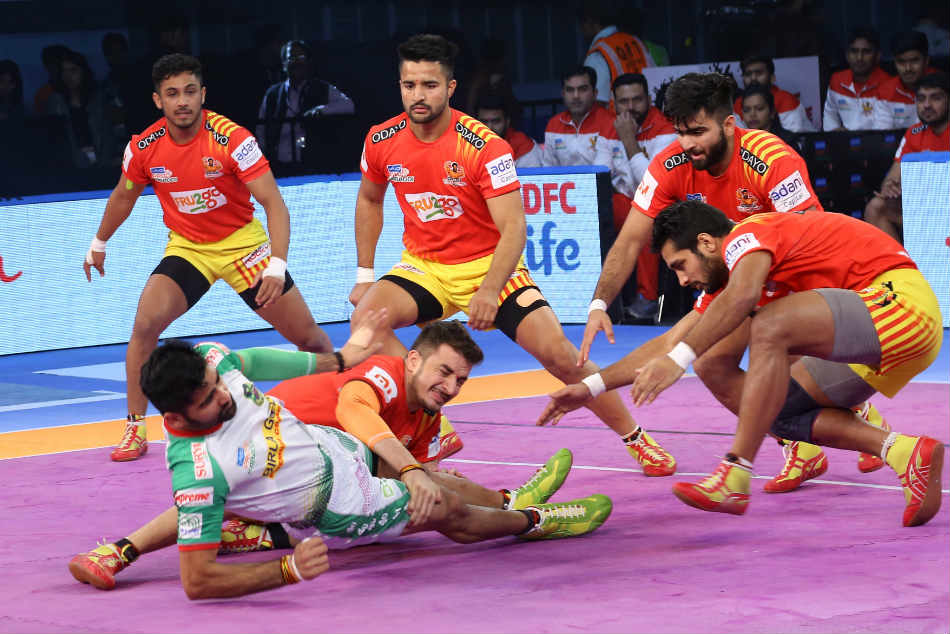 Pro Kabaddi 2018 Gujarat Fortunegiants Patna Pirates