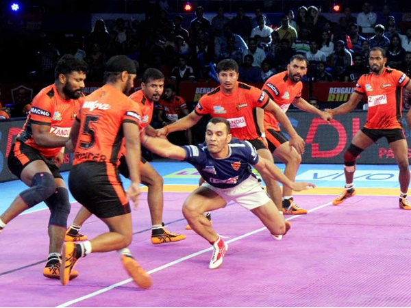 Pro Kabaddi League Up Yoddha Tamil Thalaivas