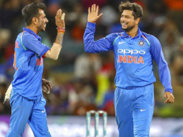 Spinners Kuldeep Yadav And Yuzvendra Chahal Completes 100 Wickets In Odi