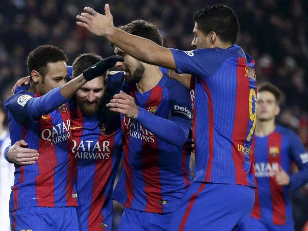Barcelona Are Through To The Copa Del Rey Quarter Final