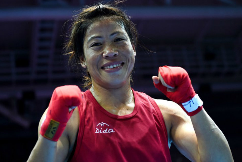 Six-time world champion Mary Kom is World No 1