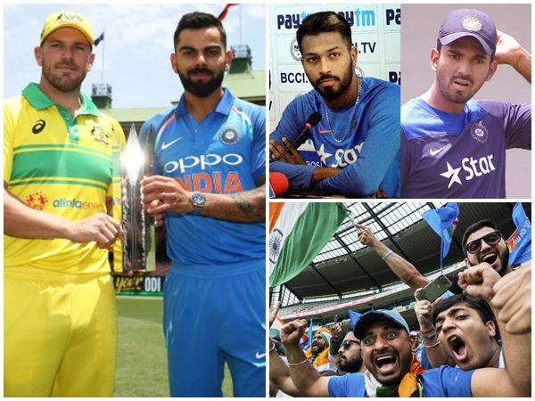 India Australia First Odi Match Preview