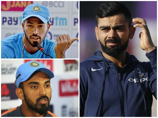 Indian Captain Virat Kohli Slams Rahul And Pandya In Tv Show Controversy
