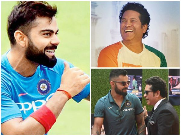 Indian Captain Virat Kohli Achieved Some Records Which Sachin Dont Have In His Test Career