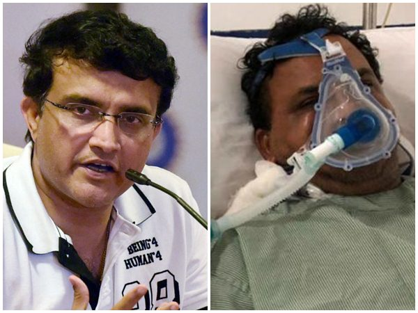 Sourav Ganguly Provides Support To Hospitalized Former Teammate Jacob Martin