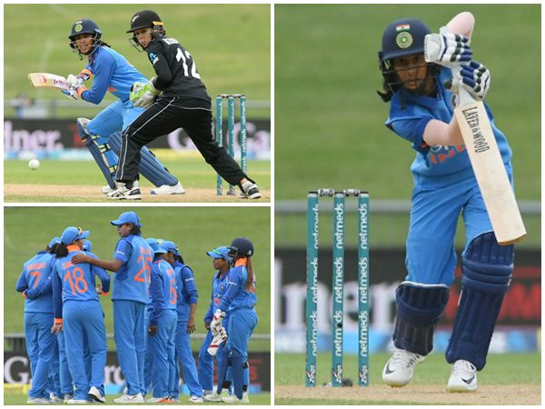 India Beats Newzealand In Womens Odi Match