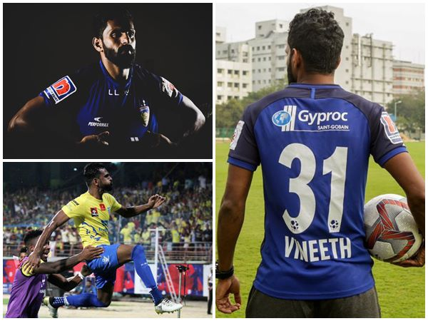 Ck Vineeth Aims New Start With Chennaiyin Fc In Indian Super League