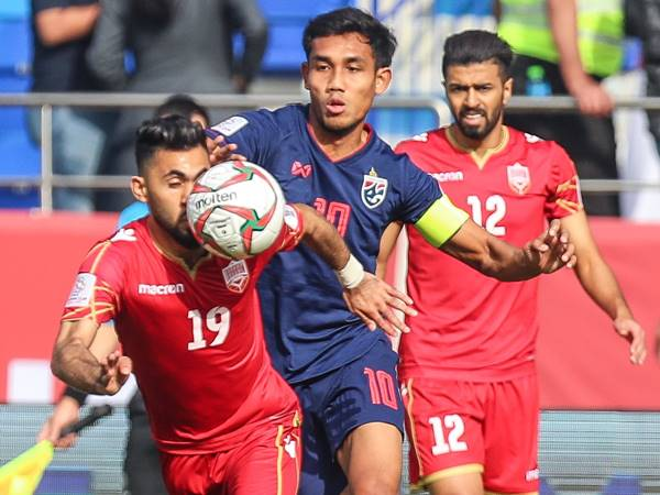 Thailand Beats Bahrain In Asian Cup
