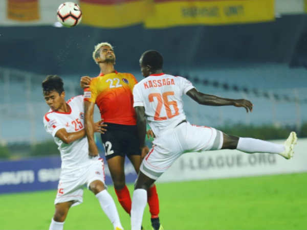 East Bengal Aizawl Fc I League Match Ends In Draw 1