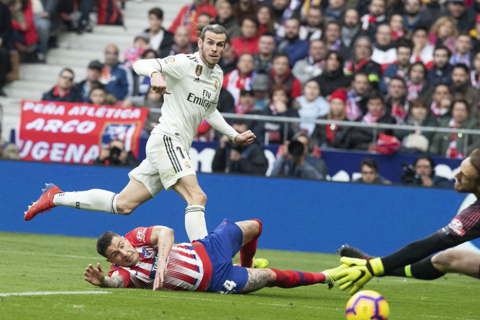Bale Scores 100th Real Goal In Derby Win