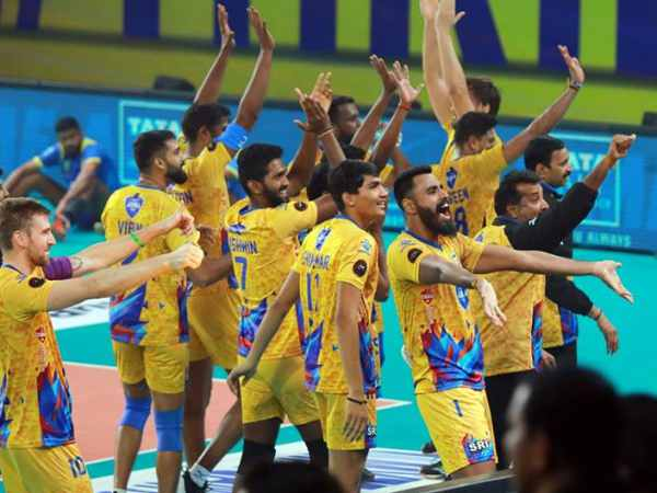 Pro Volleyball League Chennai Spartans Calicut