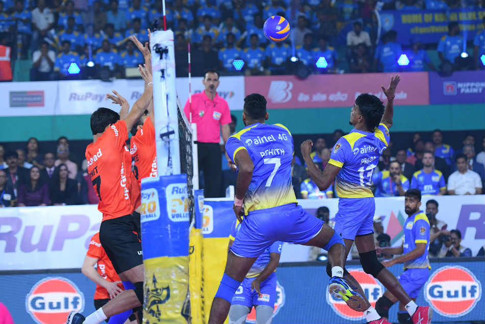 Pro Volleyball League Kochi Blue Spikers U Mumba