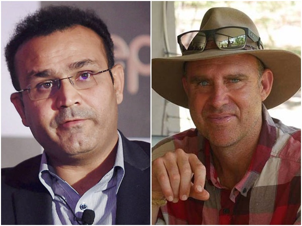 Matthew Hayden Reacts Sehwags Babysitting Ad