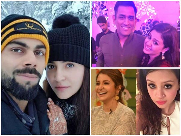 Anushka Sharma And Sakshi Dhoni Were Once School Mates
