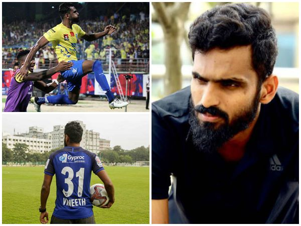Former Kerala Blasters Star Ck Vineeth And Manjappda Issue