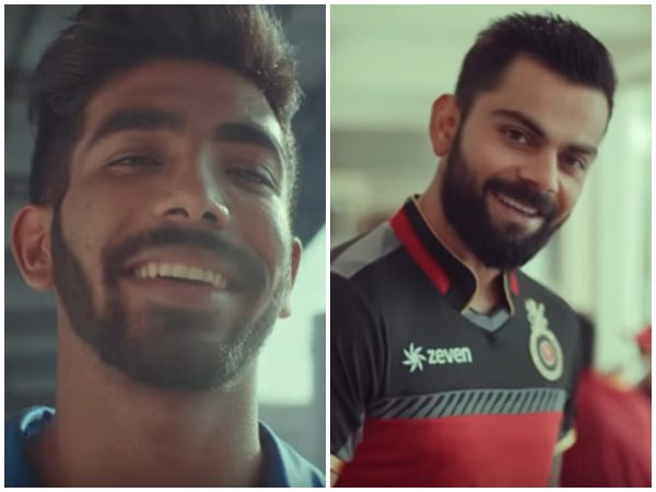 Rcb Captain Kohli Comes Up With Befitting Reply To Bumrah S Warning