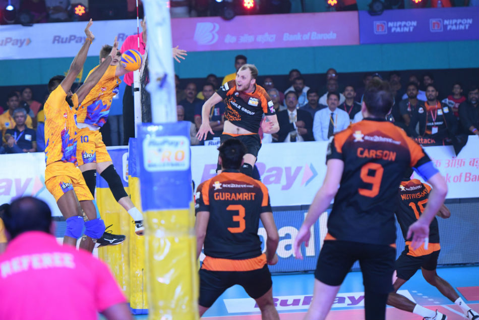 Pro Volleyball League Chennai Spartans