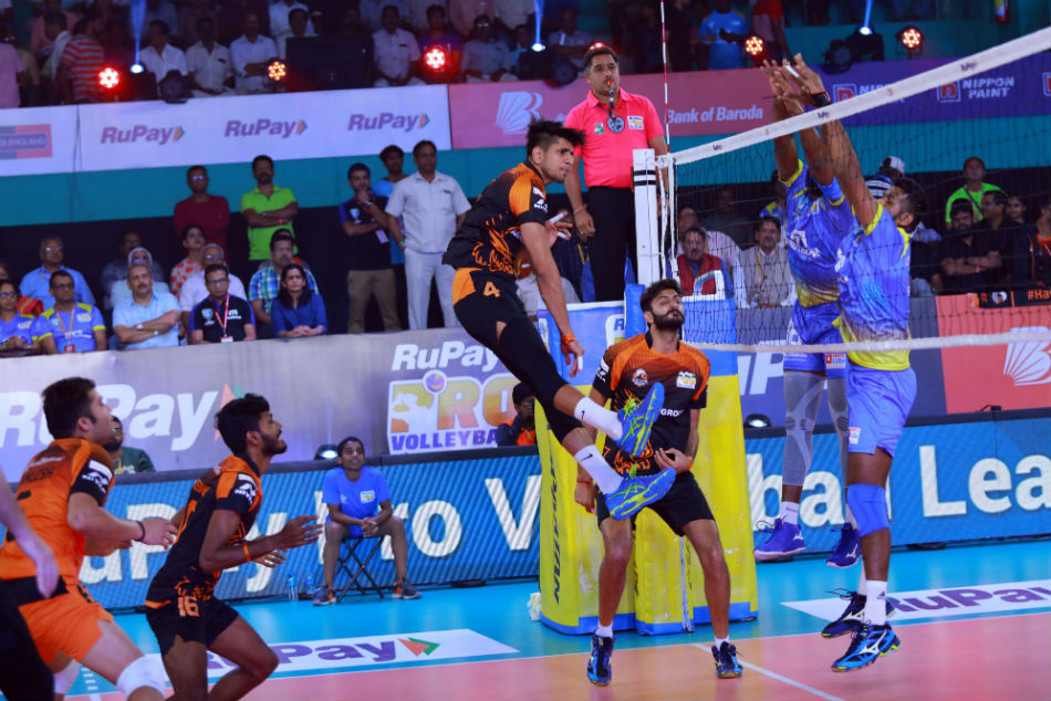 Pro Volleyball League Kochi Blue Spikers Yderabad