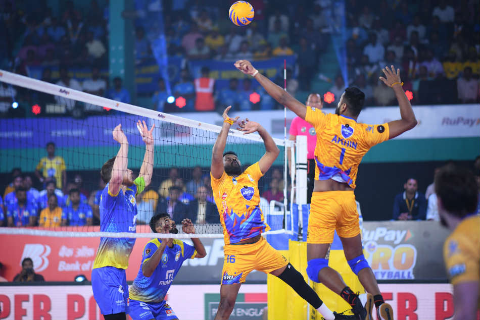 Pro Volleyball League Kochi Blue Spikers