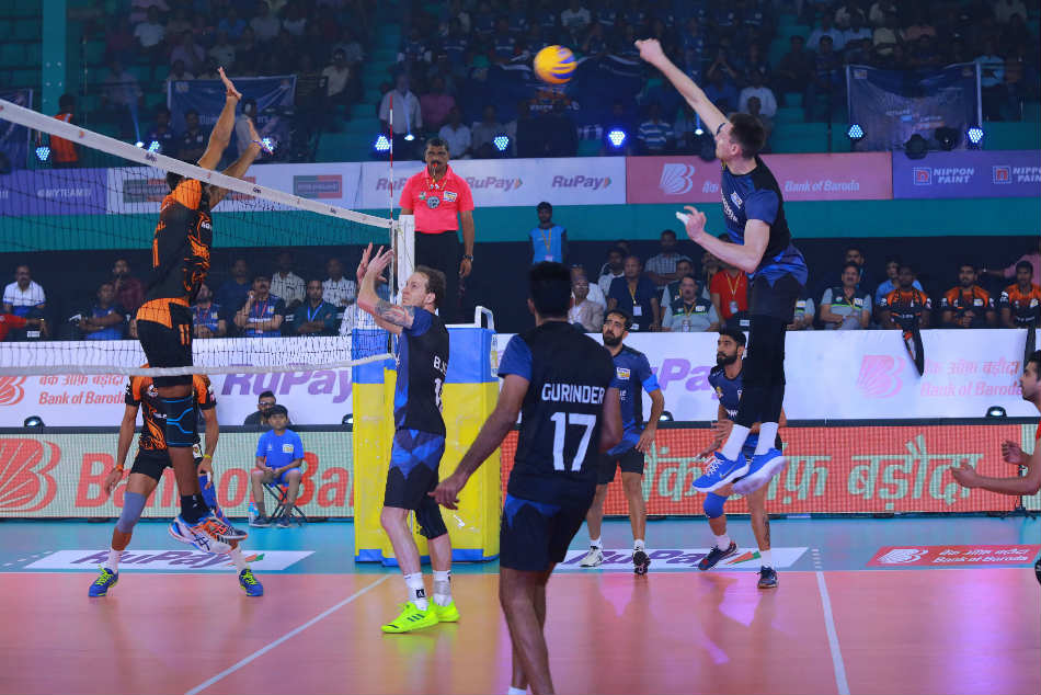 Pro Volleyball League Black Hawks Hyderabad