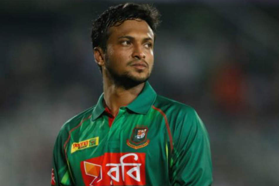 Shakib Ruled Out Of New Zealand Odis With Fractured Finger