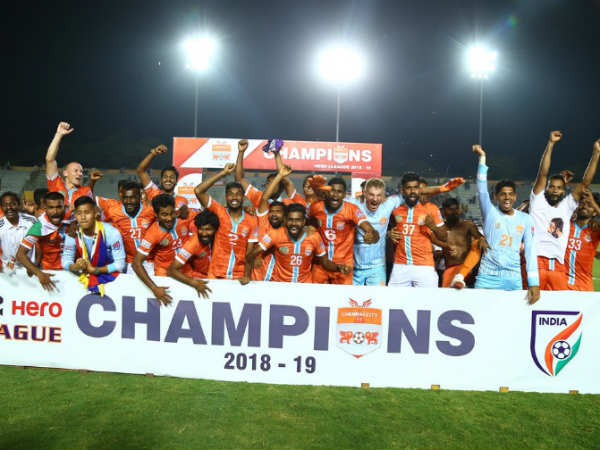 Chennai City Crowned Champions In I League Football