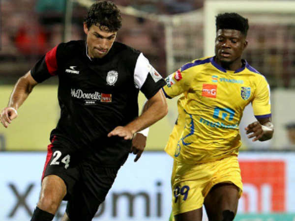 Kerala Blasters North East United Isl Match Live Updates