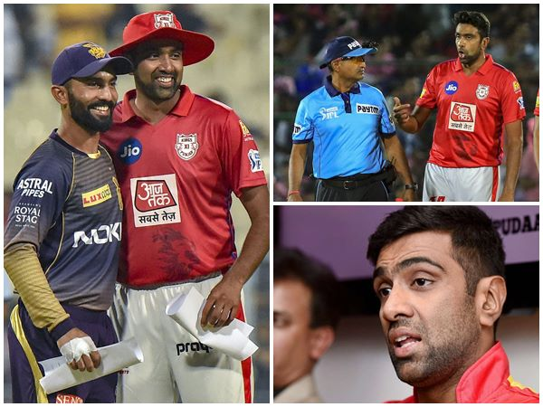 Punjab Captain Ashwin Accepts Blame For No Ball Incident Against Kkr