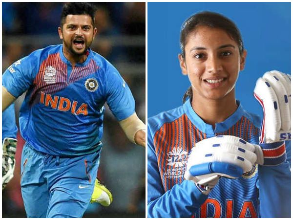 Suresh Raina Congragulates Smriti Mandhana For Breaking His Record