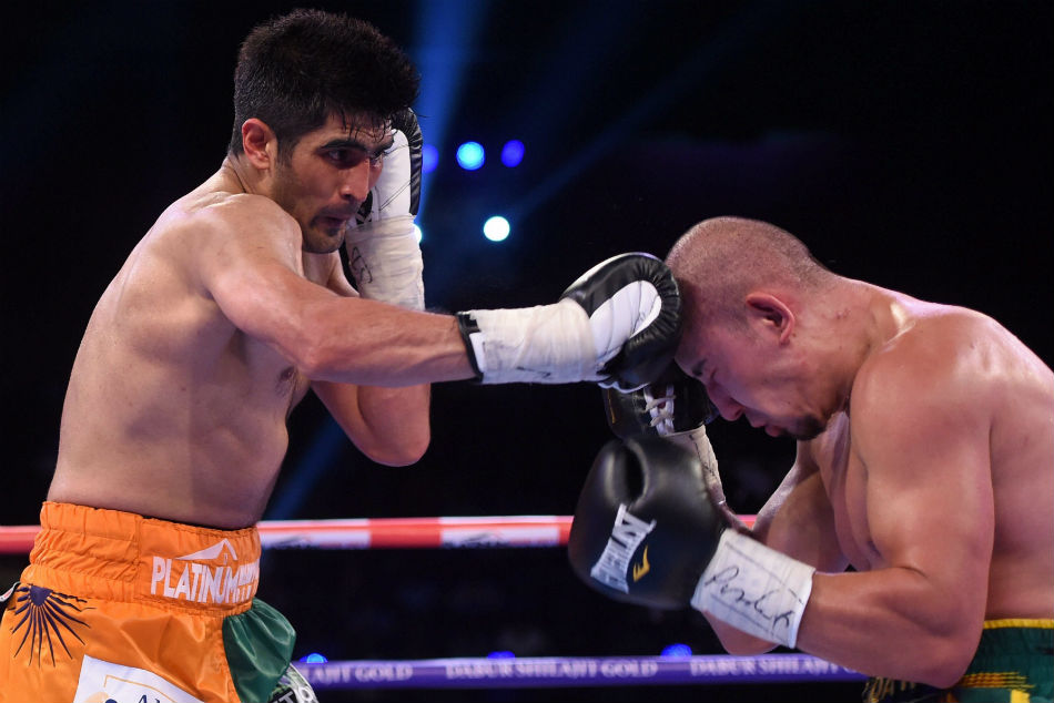 Vijender Singh Injured In Training
