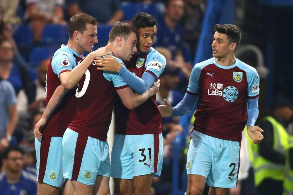 Premier League Chelsea Burnley Braw