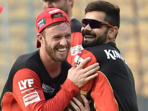 Devilliers Comes Up With Hilarious Nickname For Kohli After Match Winning Innings