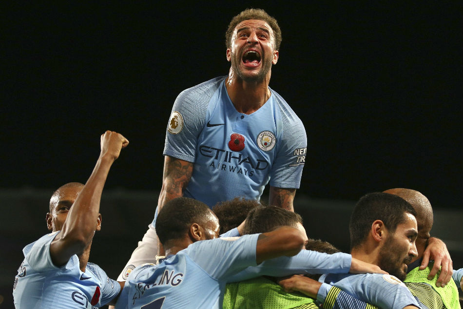 Manchester City Move Top Of Table