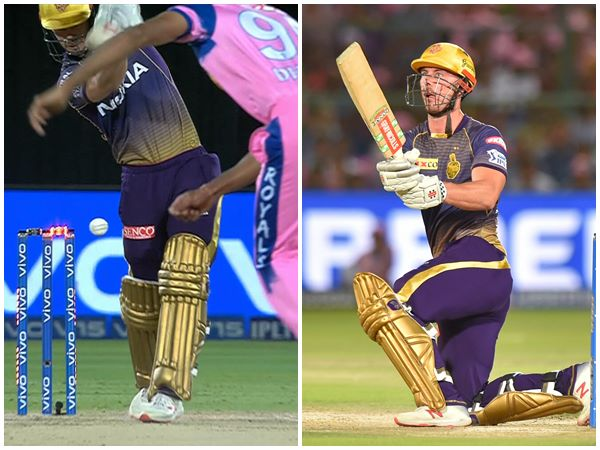 Ball Hits Stump And Bails Dont Come Off In Kkr Rajasthan Ipl Match