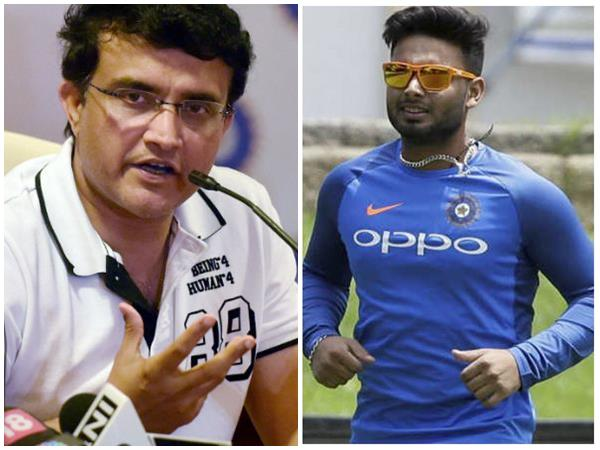 Rishabh Pant Is Just 21 And World Cup Omission Not End Of Road Says Ganguly