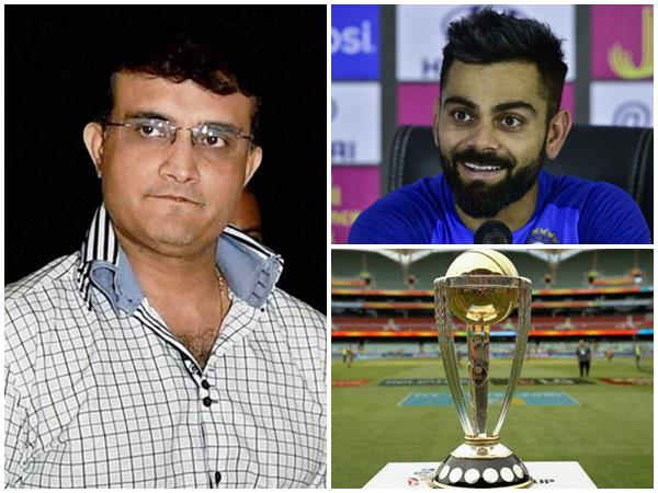 Sourav Ganguly Picks His World Cup Semi Finalists
