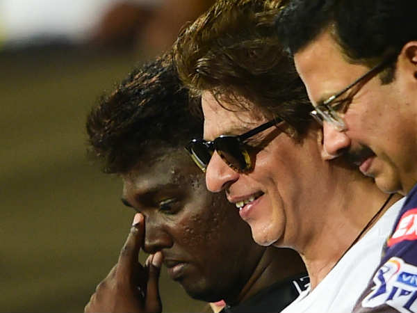 Srk Posts Special Message For Ganguly After Kkr Lost To Delhi