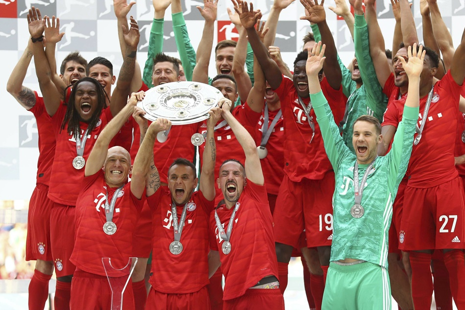 Bayern Munich Crowned Bundesliga Title