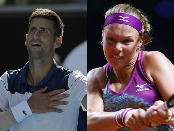Novak Djokovic Kiki Bertens Wins Titles