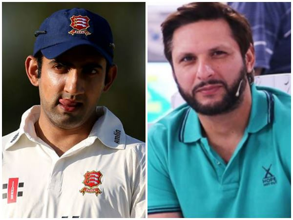 Will Personally Take You To A Psychiatrist Gambhir Says To Afridi
