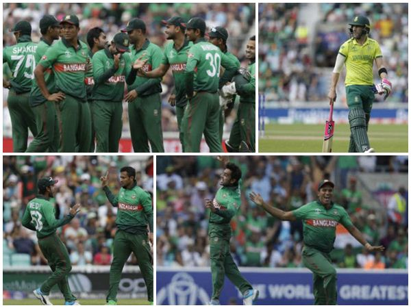 Cwc 2019 South Africa Loose To Bangladesh