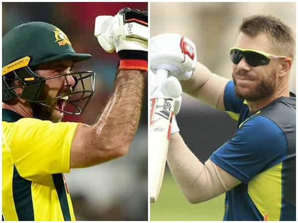 Maxwell Blames Conditions For David Warner S Slow Start In World Cup